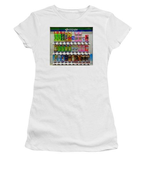 Ito En Vending Women's T-Shirt (Athletic Fit)