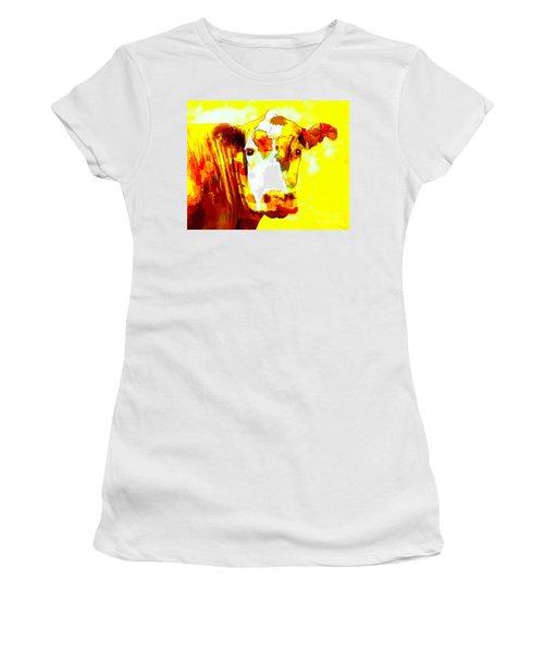 Yellow Cow Women's T-Shirt