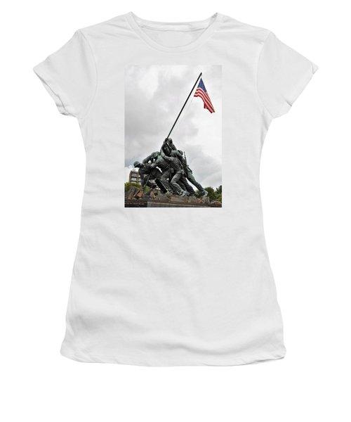 Iwo Jima Memorial Women's T-Shirt
