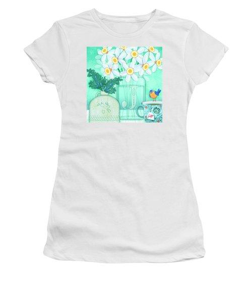 J Is For Jar Of Jonquils Women's T-Shirt