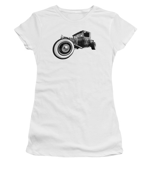 Jack Daniels Vintage Hot Rod Delivery Women's T-Shirt (Athletic Fit)