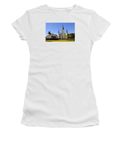 Jackson Square Women's T-Shirt (Athletic Fit)