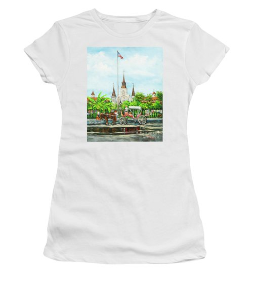 Jackson Square Carriage Women's T-Shirt