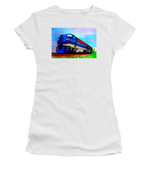 Jacob The Train Women's T-Shirt (Athletic Fit)
