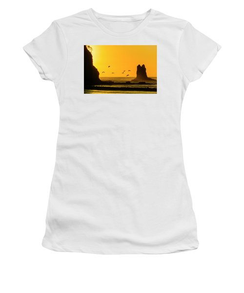 James Island And Pelicans Women's T-Shirt