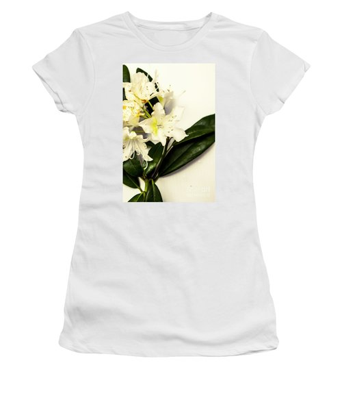 Japanese Flower Art Women's T-Shirt