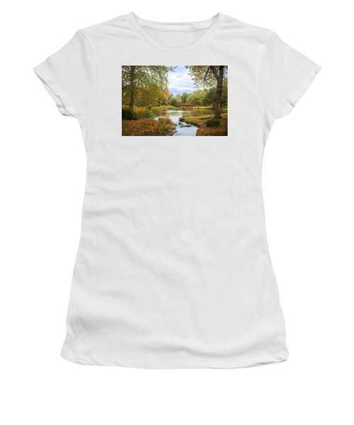 Japanese Garden View Women's T-Shirt