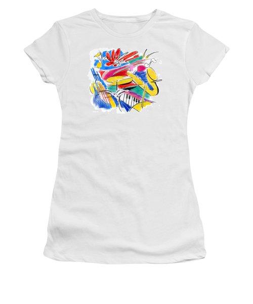 Jazz Art Women's T-Shirt