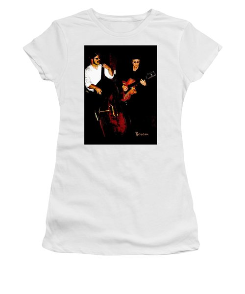 Jazz Musicians Women's T-Shirt (Athletic Fit)