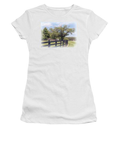 Jefferson Landing Series No. 1 Women's T-Shirt (Junior Cut) by Laura DAddona