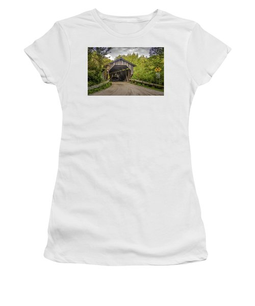 Jeffersonville Covered Bridge Women's T-Shirt