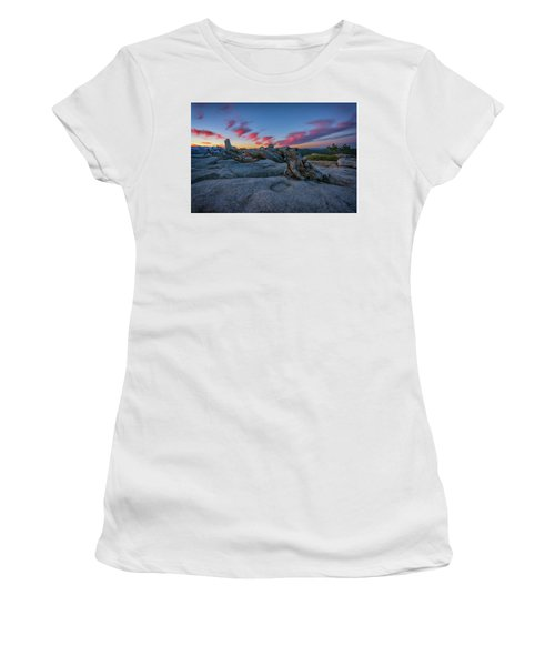 Women's T-Shirt (Junior Cut) featuring the photograph Jeffrey Pine Dawn by Rick Berk