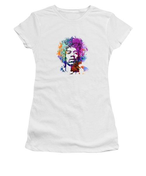 Jimi Hendrix Women's T-Shirt