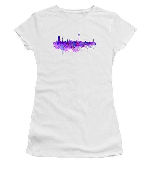 Johannesburg Skyline Women's T-Shirt