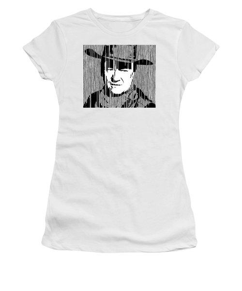 John Wayne Cowboy Huge Print Women's T-Shirt