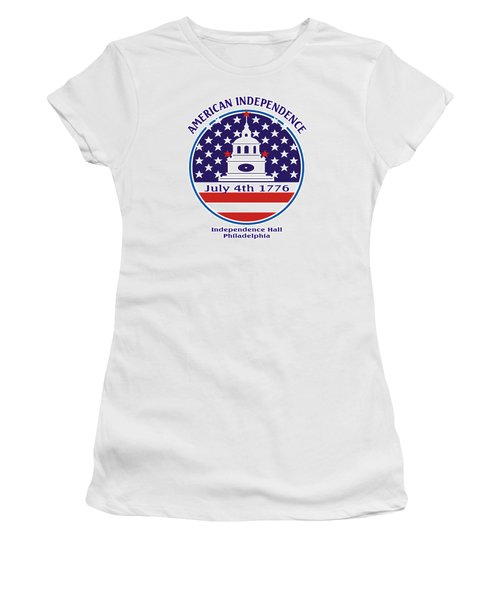 July 4th 1776 - American Independence Day Design Women's T-Shirt