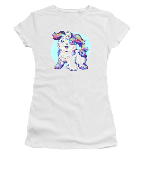 Jumped Through A Rainbow Women's T-Shirt (Athletic Fit)