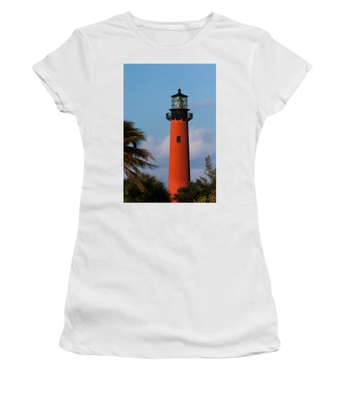 Jupiter Inlet Lighthouse Women's T-Shirt (Athletic Fit)
