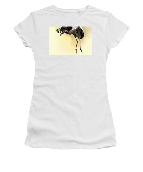 Just Dropping In Women's T-Shirt (Junior Cut) by Cyndy Doty