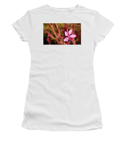 Just In Pink Women's T-Shirt (Athletic Fit)