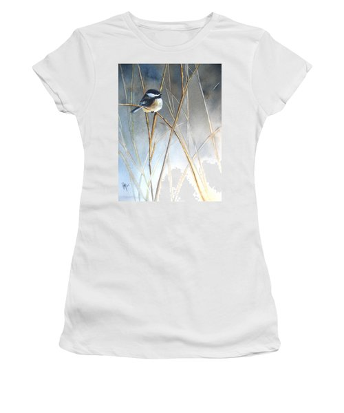 Just Thinking Women's T-Shirt (Athletic Fit)