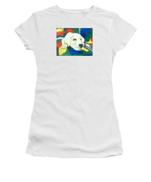 Just Waiting Women's T-Shirt (Athletic Fit)