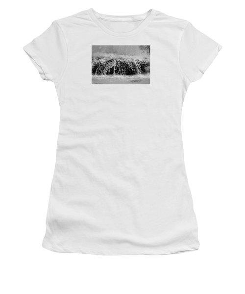 Just Water Women's T-Shirt (Junior Cut) by Dorin Adrian Berbier