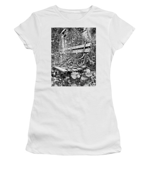Just Yesterday Women's T-Shirt (Junior Cut) by Tom Cameron