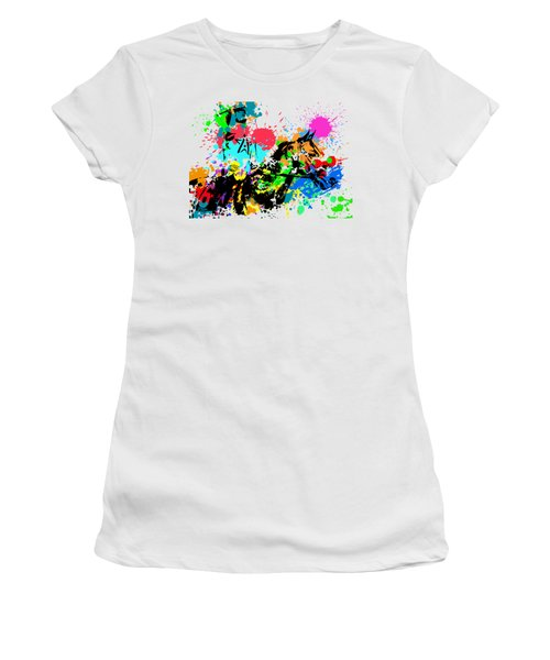 Justify Pop Art Women's T-Shirt (Athletic Fit)