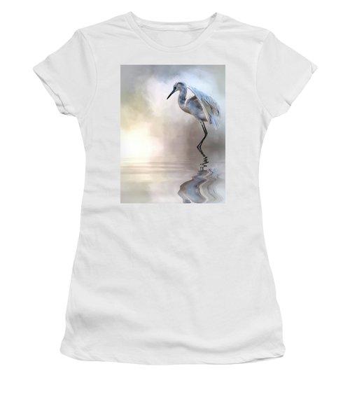 Juvenile Heron Women's T-Shirt (Athletic Fit)