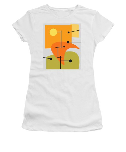 Juxtaposing Thoughts Women's T-Shirt (Athletic Fit)