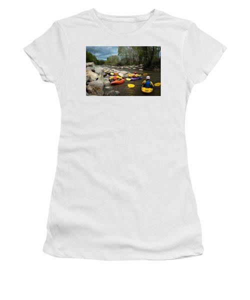 Kayaking Class Women's T-Shirt