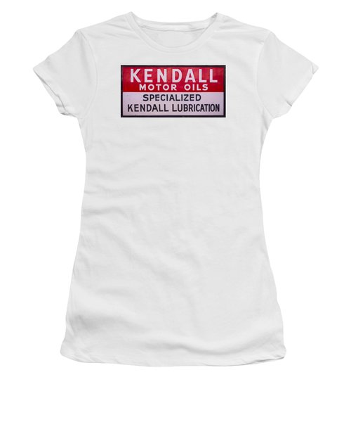 Kendall Motor Oils Sign Women's T-Shirt (Athletic Fit)