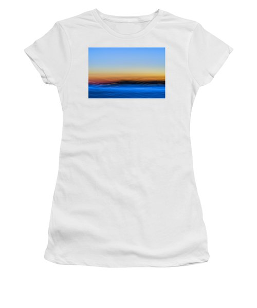 Key West Abstract Women's T-Shirt (Athletic Fit)