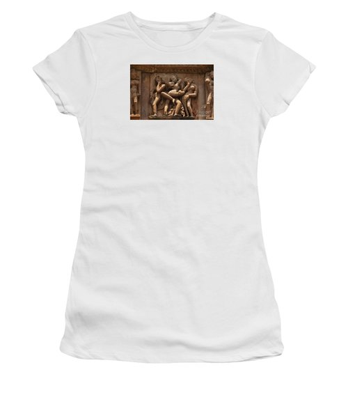 Khajuraho Temples 6 Women's T-Shirt (Athletic Fit)
