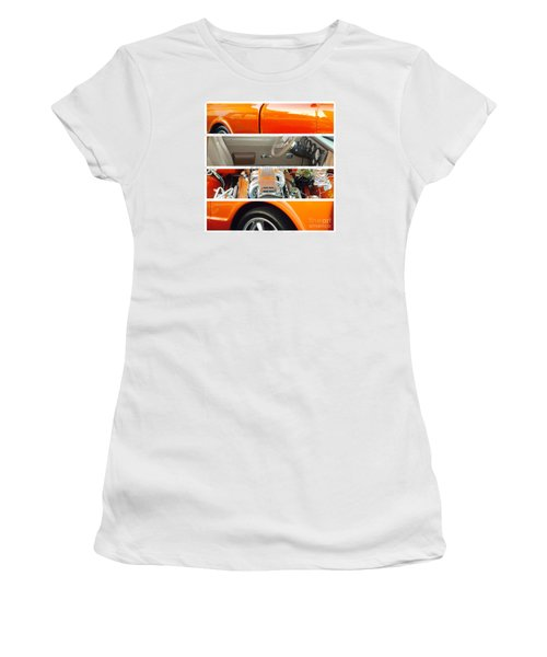 Killeen Texas Car Show - No.2 Women's T-Shirt (Junior Cut) by Joe Finney