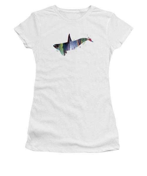 Killer Whale Women's T-Shirt (Athletic Fit)