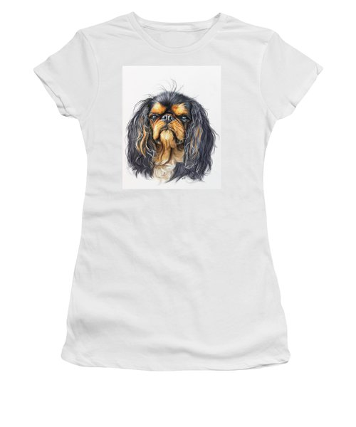 King Charles Spaniel Women's T-Shirt (Athletic Fit)