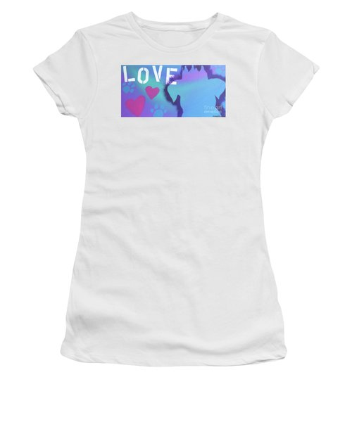 King Of My Heart Women's T-Shirt (Junior Cut) by Melissa Goodrich
