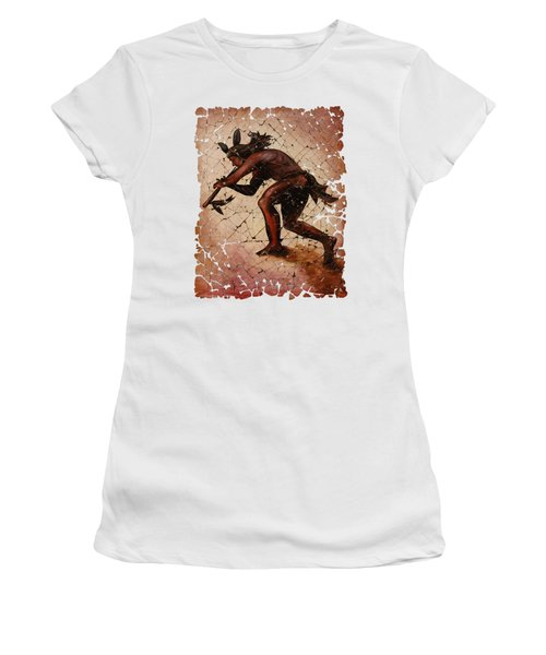 Kokopelli The Flute Player  Women's T-Shirt (Junior Cut)