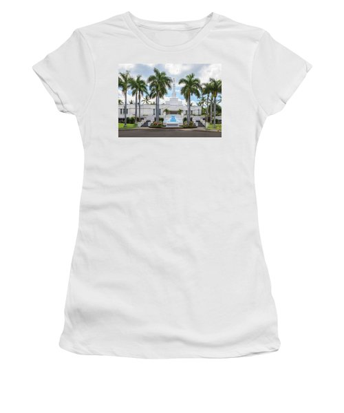 Kona Hawaii Temple-day Women's T-Shirt