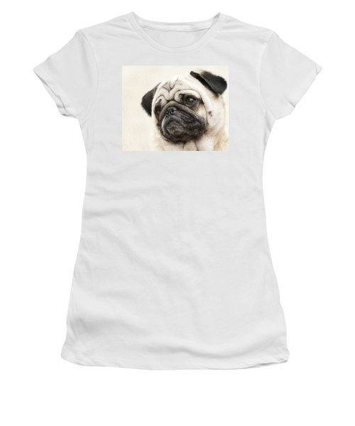 L-o-l-a Lola The Pug Women's T-Shirt (Athletic Fit)