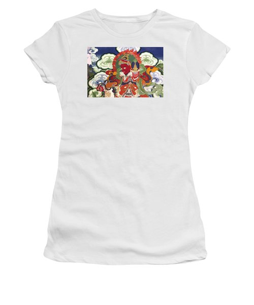 Women's T-Shirt (Junior Cut) featuring the photograph Ladakh_17-2 by Craig Lovell