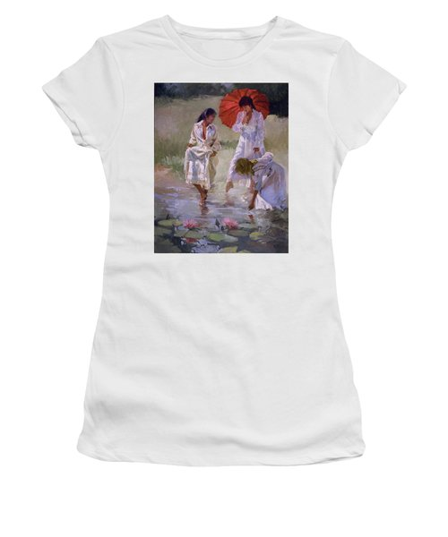 Ladies And Lilies Women's T-Shirt