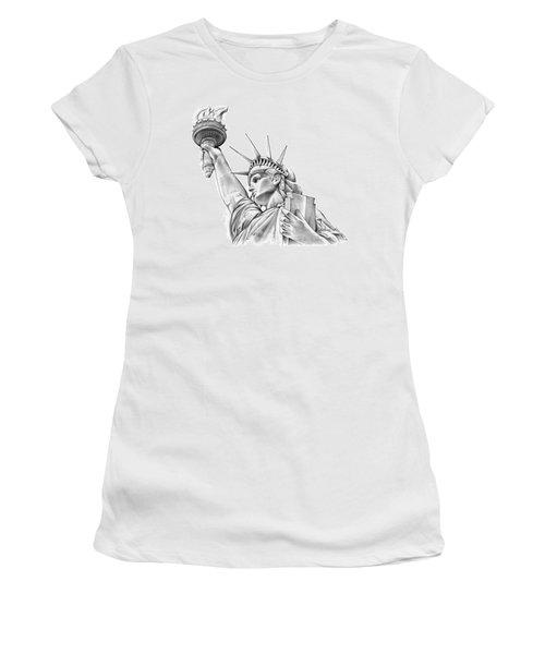 Lady Liberty Women's T-Shirt