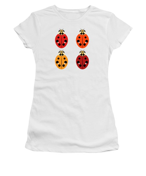 Ladybug Quartet Women's T-Shirt