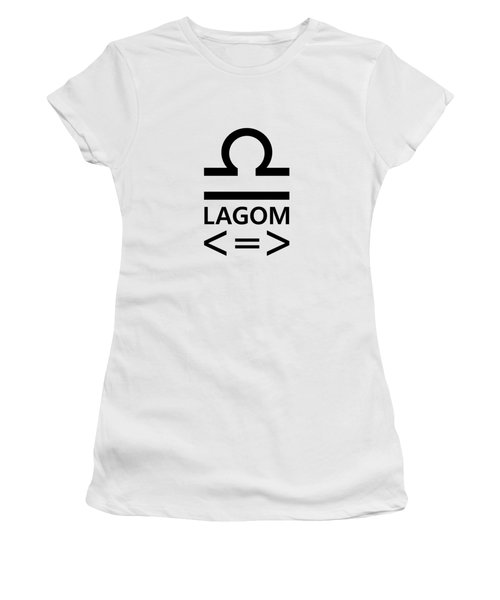 Lagom - Less Is More II Women's T-Shirt (Athletic Fit)