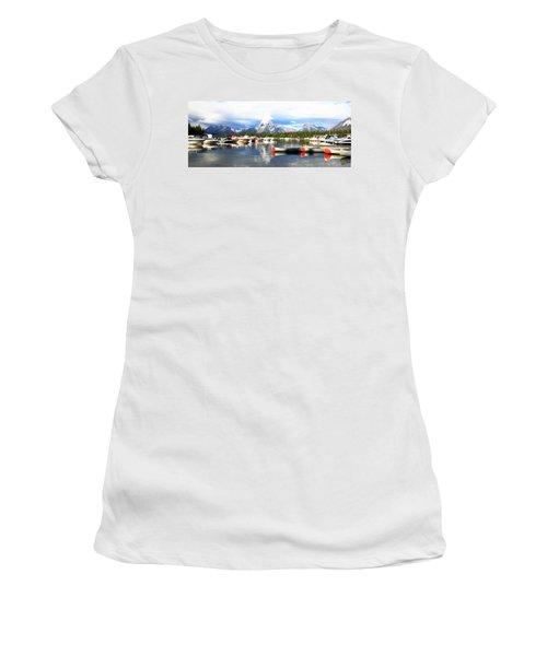 Lake Jackson Women's T-Shirt (Athletic Fit)