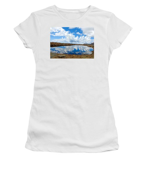 Lake Of The Sky Women's T-Shirt (Athletic Fit)