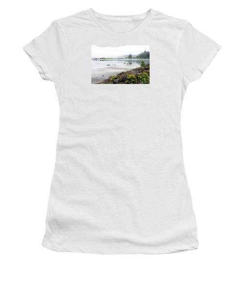 Lake Superior Women's T-Shirt (Junior Cut) by Ed Hall
